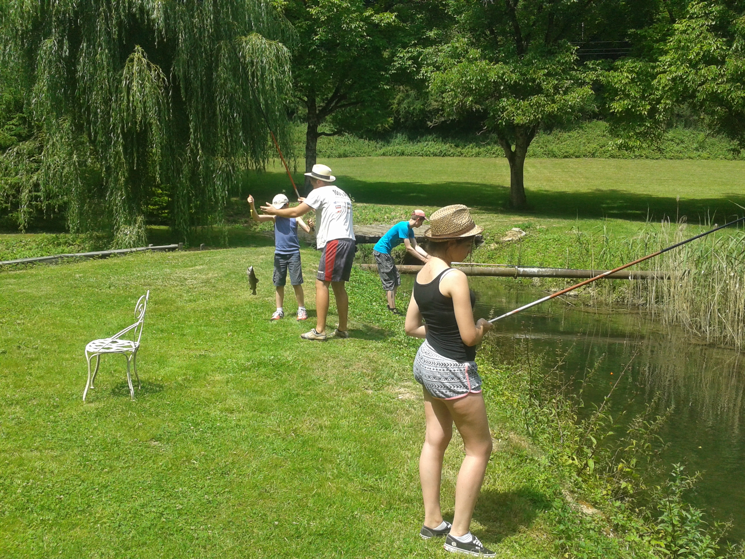 Pêche à la truite à Aisey