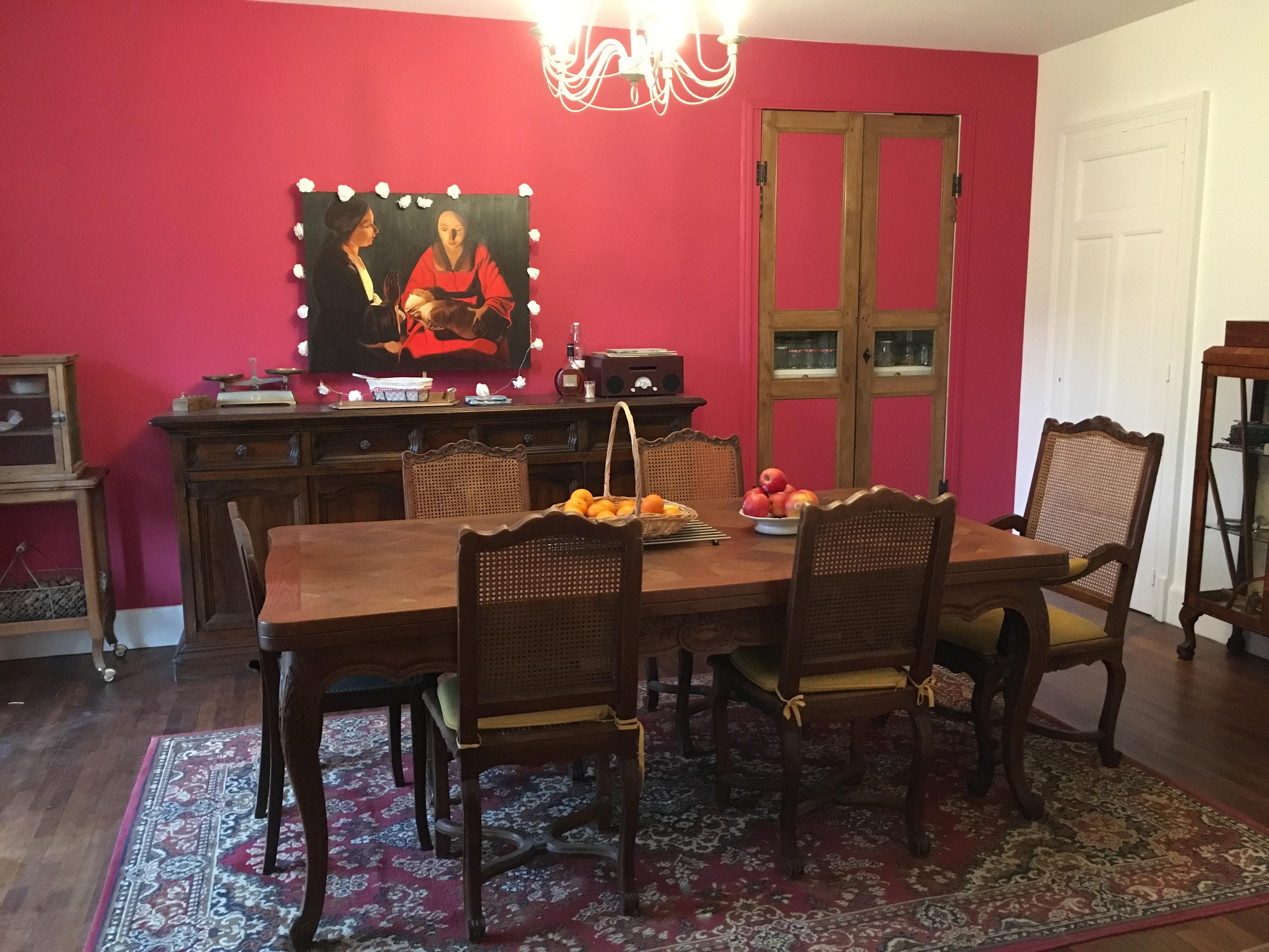 La salle à manger commune