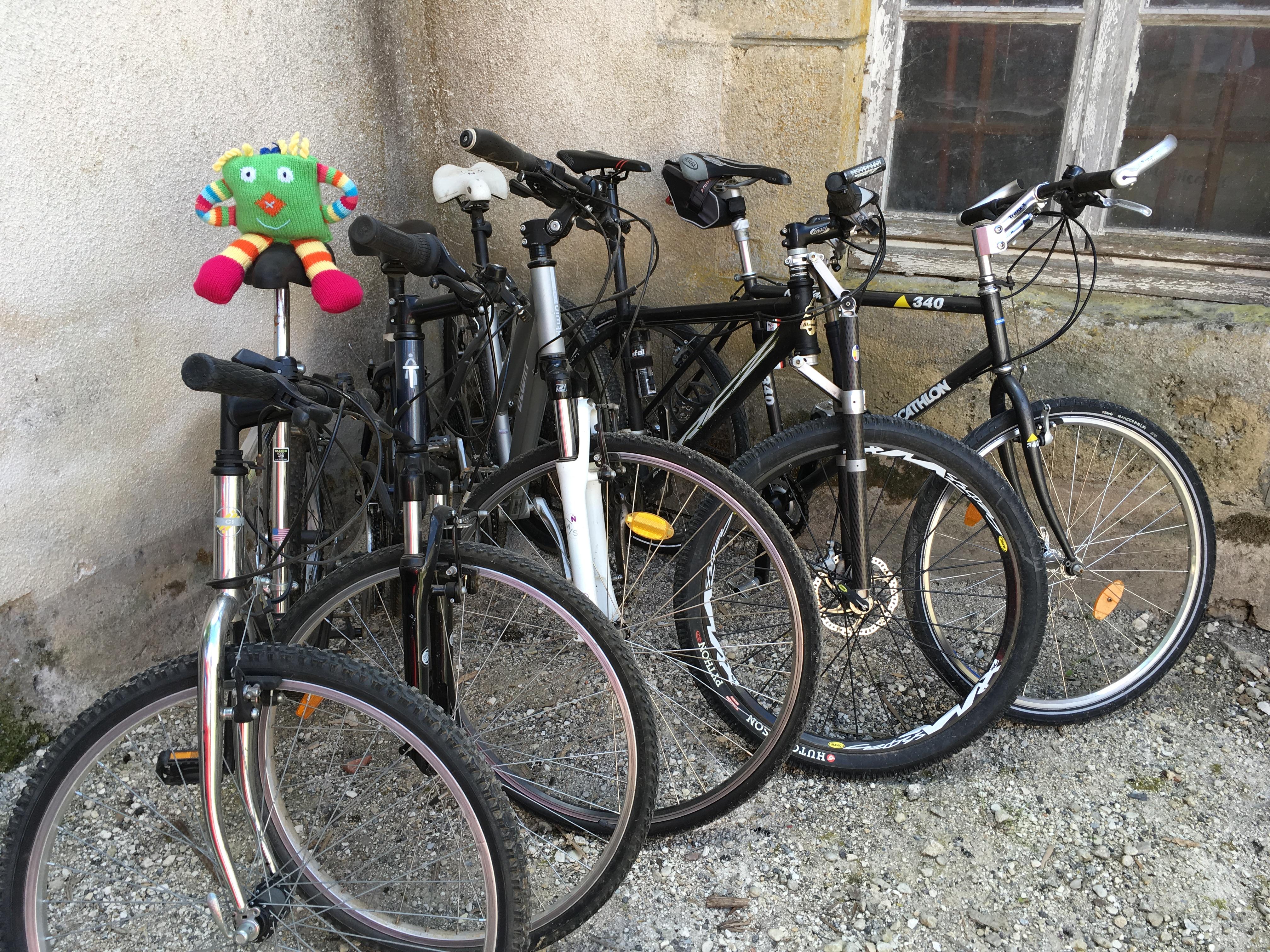 Parc à vélos